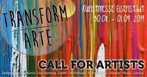 CALL FOR ARTISTS - TRANSFORM-ARTE 2019